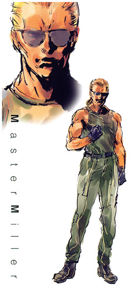 Master Miller Art Metal Gear Solid Art Gallery See more of kazuhira miller (metal gear solid: master miller art metal gear solid