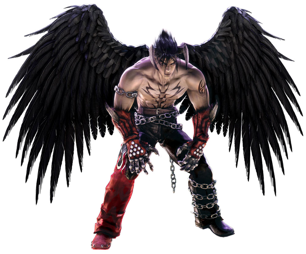 Image: Devil Jin | Tekken 5 Art Gallery at Creative Uncut