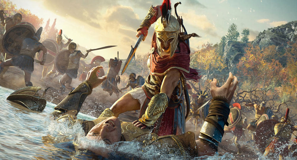 Assassin S Creed Odyssey Concept Art Characters Artwork