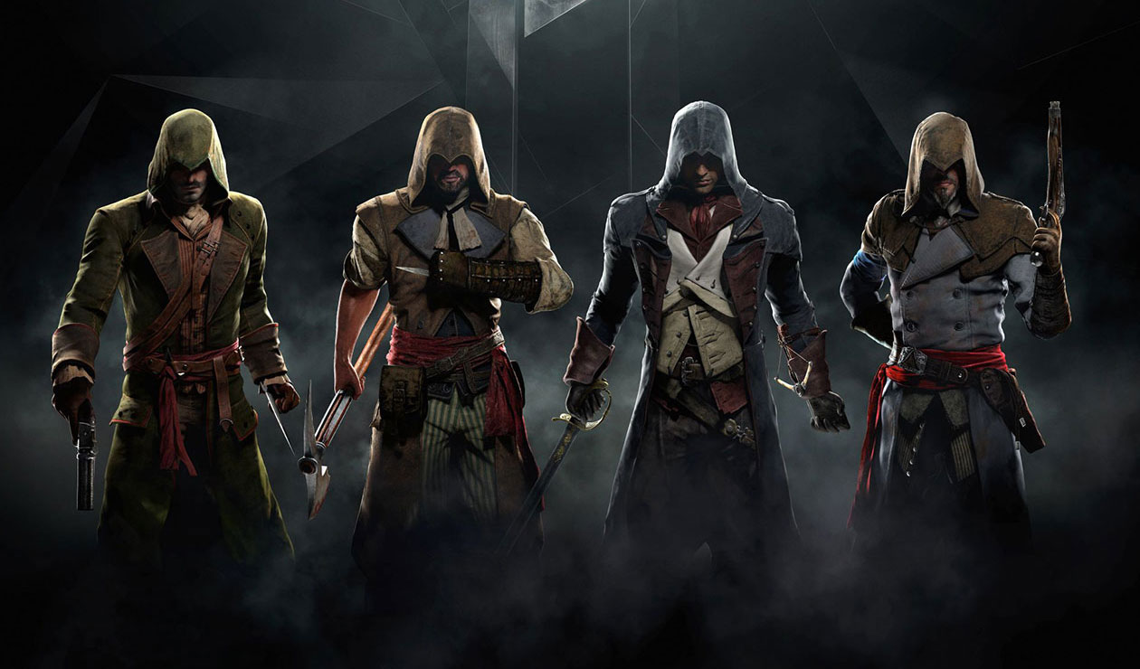 Assassin S Creed Unity Concept Art Characters