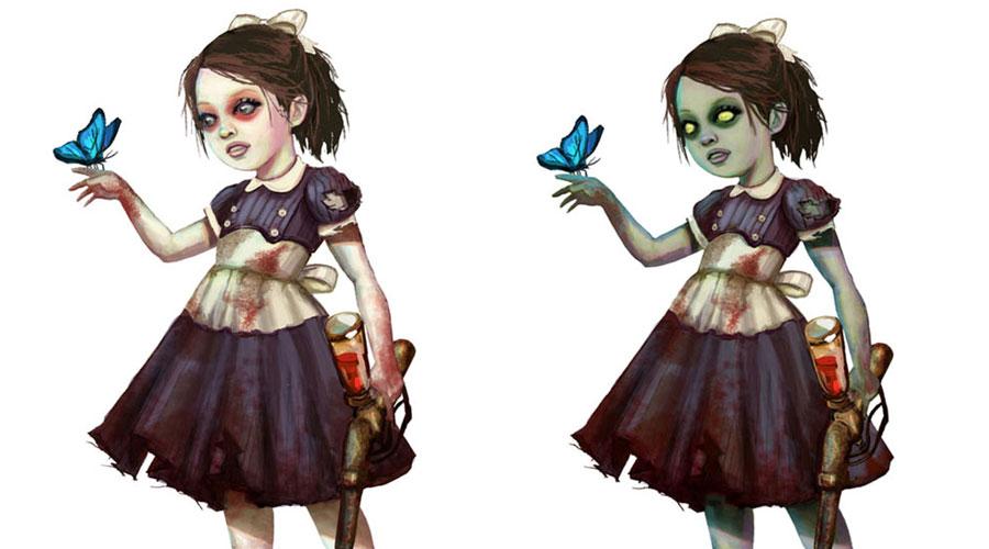 Bioshock 2 Concept Art Characters