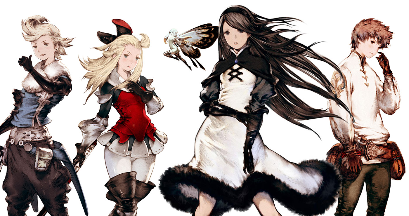 Bravely Default Concept Art & Characters