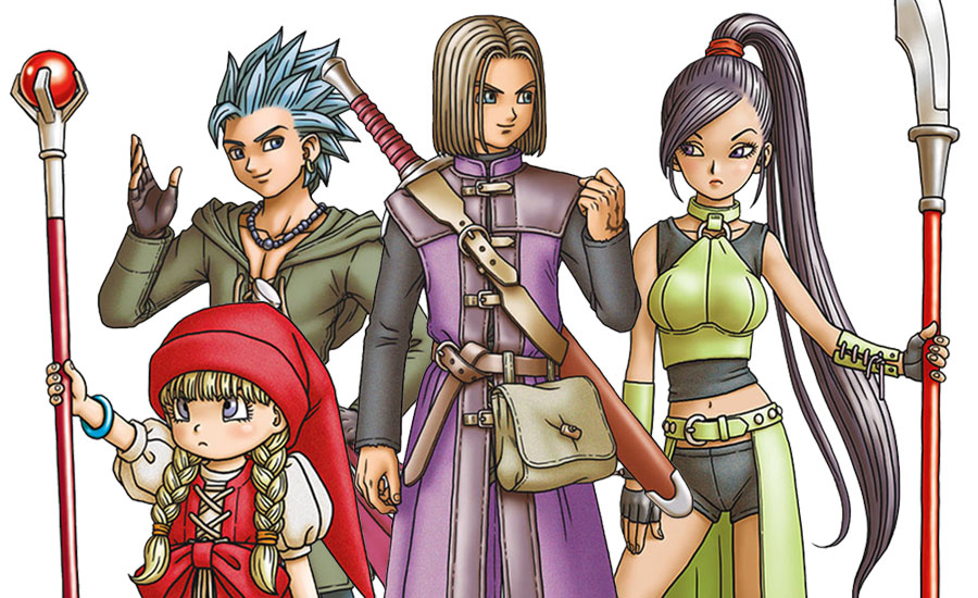 Dragon Quest XI Echoes of an Elusive Age Official Art Works Illustration Book