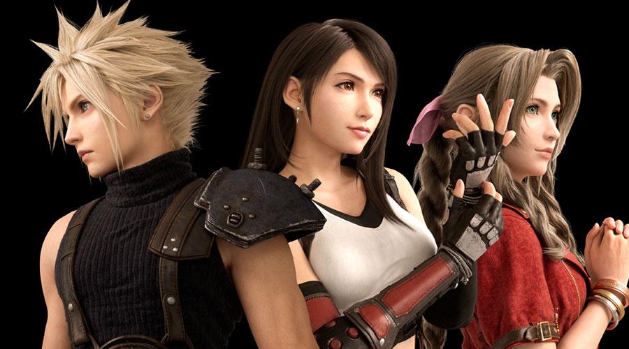 Final Fantasy 7 Official Art