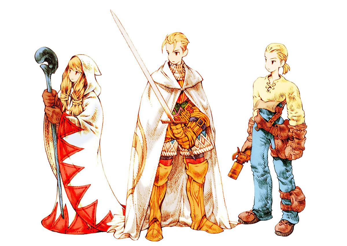 Final Fantasy Tactics Concept Art Characters Page 2 Minaba hideo granblue fantasy character design | #470670. final fantasy tactics concept art