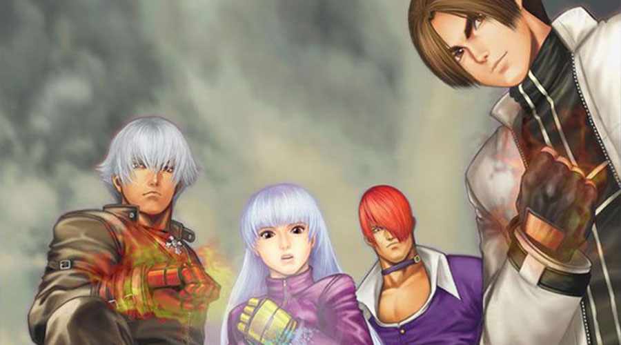 The King Of Fighters 2002 Concept Art Characters