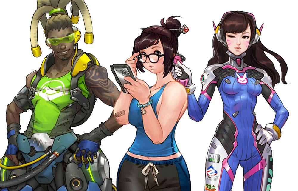 Overwatch Concept Art \u0026 Characters