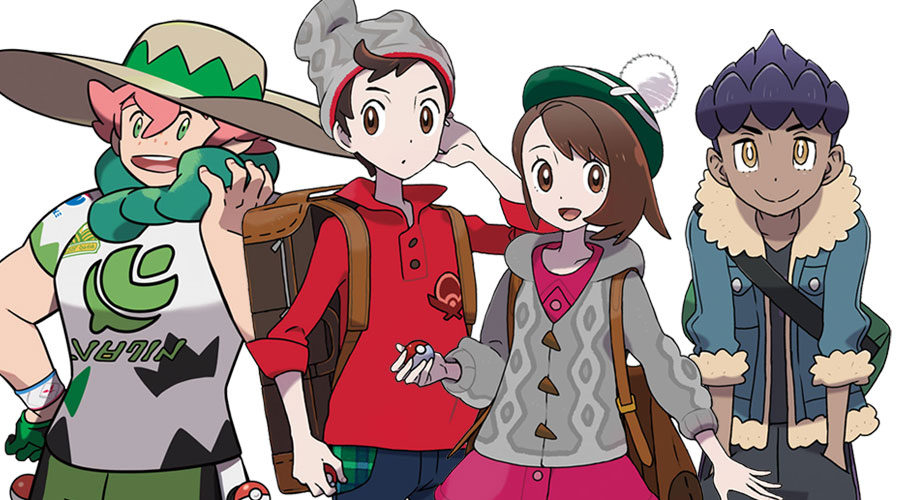 Pokemon Sword And Shield Concept Art Characters