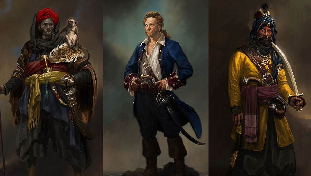 Uncharted 4 A Thief S End Concept Art Characters