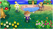 Animal Crossing: New Leaf Art & Characters Gallery