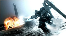 Armored Core 4 Art & Characters Gallery