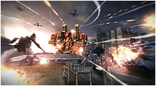 Armored Core V Art, Pictures, & Characters