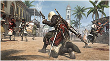Assassin's Creed IV: Black Flag Art & Characters Gallery