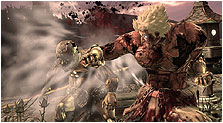 Asura's Wrath Art & Characters Gallery