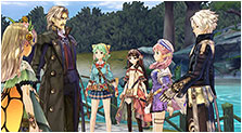Atelier Shallie Plus: Alchemists of the Dusk Sea Art & Characters Gallery