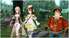 Atelier Sophie: The Alchemist of the Mysterious Book Art & Characters Pictures