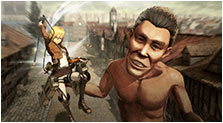 Attack on Titan: Wings of Freedom Art & Characters Gallery
