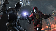 Batman: Arkham Origins Art & Characters Concept Artwork