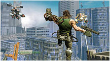 Bionic Commando Art & Characters Gallery