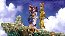 Chrono Cross Art & Characters Gallery
