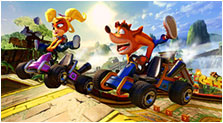 Crash Team Racing Nitro-Fueled Art & Characters Gallery