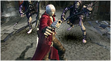 Devil May Cry 3: Dante's Awakening Art & Characters Gallery