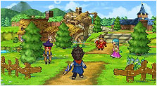 Dragon Quest IX: Sentinels of the Starry Skies Art & Characters Gallery