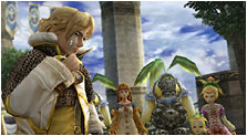 Final Fantasy Crystal Chronicles: The Crystal Bearers Art & Characters Gallery