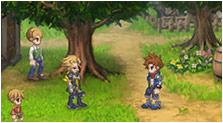 Final Fantasy Dimensions II Art & Characters Gallery