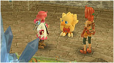 Final Fantasy Fables: Chocobo's Dungeon Art & Characters Gallery