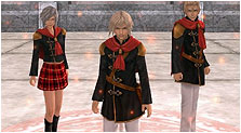 Final Fantasy Type-0 Art & Characters Gallery