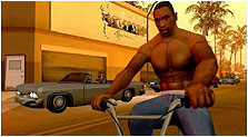 Grand Theft Auto: San Andreas Art, Pictures, & Characters