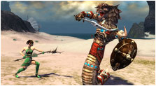 Guild Wars Factions Art & Characters Gallery