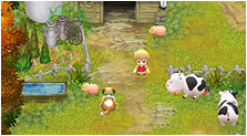 Harvest Moon: The Tale of Two Towns Art & Characters Pictures