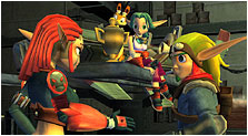 Jak II Art, Pictures, & Characters