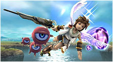 Kid Icarus: Uprising Art, Pictures, & Characters