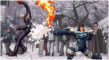 The King of Fighters 2001 Art & Characters Gallery
