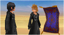 Kingdom Hearts 358/2 Days Art & Characters Gallery