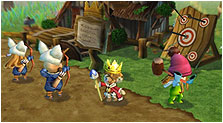 Little King's Story Art & Characters Pictures