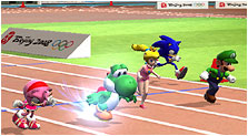 Mario & Sonic at the Olympic Games Art, Pictures, & Characters