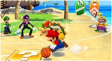 Mario Hoops 3 on 3 Art, Pictures, & Characters