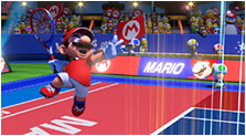 Mario Tennis Aces Art & Characters Gallery
