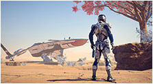 Mass Effect: Andromeda Art & Characters Gallery