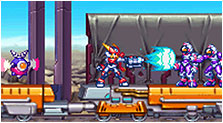 Mega Man ZX Advent Art & Characters Gallery