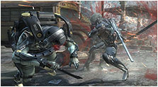 Metal Gear Rising: Revengeance Art & Characters Gallery