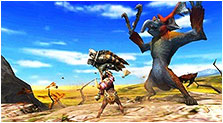 Monster Hunter 4 Art & Characters Pictures