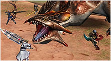 Monster Hunter Frontier Art & Characters Gallery