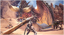 Monster Hunter: World Art & Characters Pictures