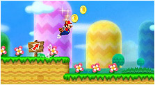 New Super Mario Bros. 2 Art, Pictures, & Characters