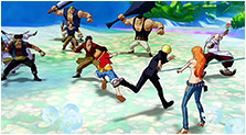 One Piece: Unlimited World Red Art & Characters Pictures
